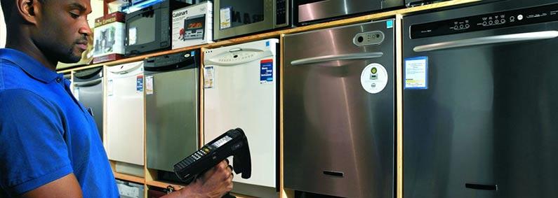 商业级手持式 RFID 读取器 品牌:斑马(Zebra)  型号:MC3190-Z  类型:RFID读写器(移动数据终端)   摩托罗拉  尺寸 重量  显示屏 .jpg